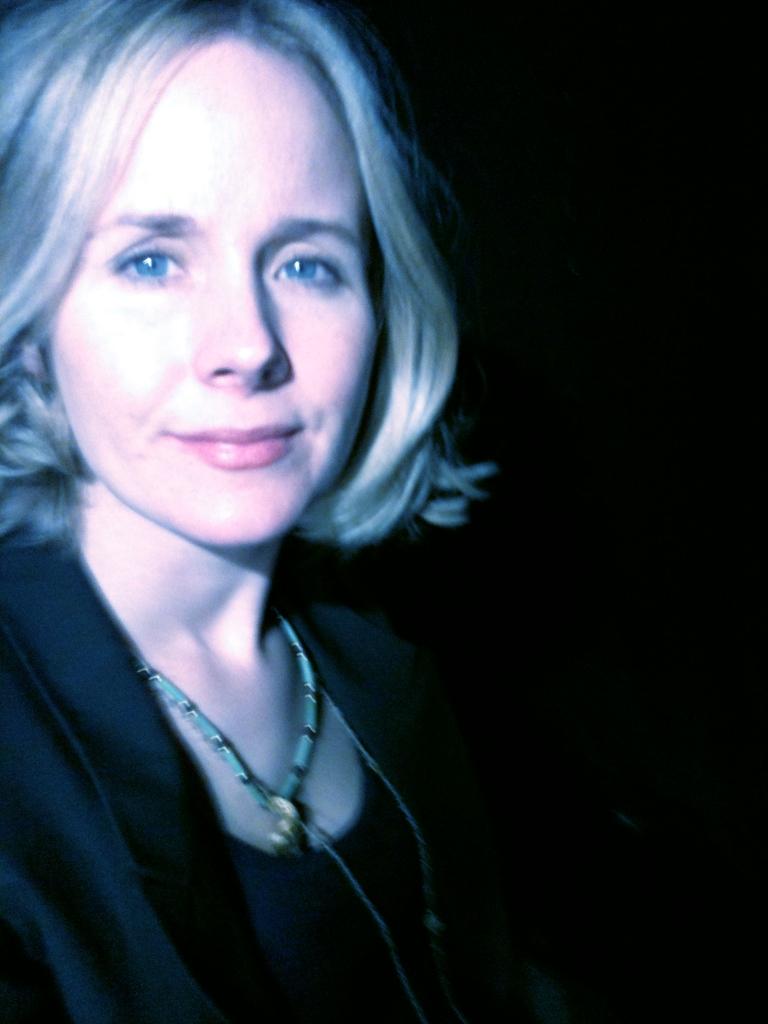 Me backstage.
